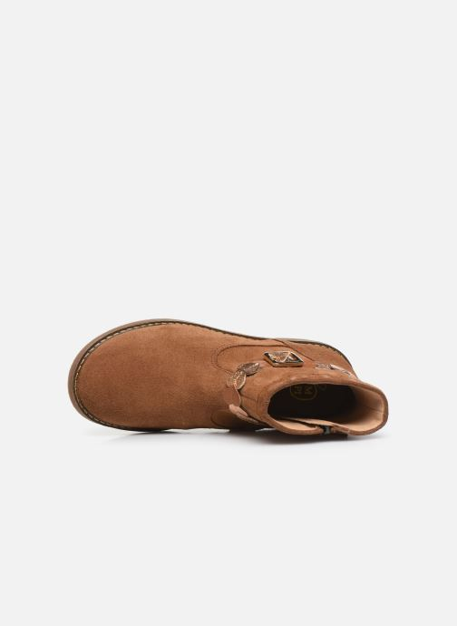 Boots en enkellaarsjes Pom d Api Trip heart Bruin links