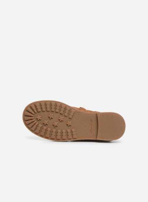 Boots en enkellaarsjes Pom d Api Trip heart Bruin boven