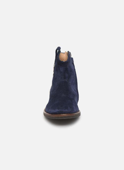 Bottines et boots Pom d Api Billy ferns Bleu vue portées chaussures