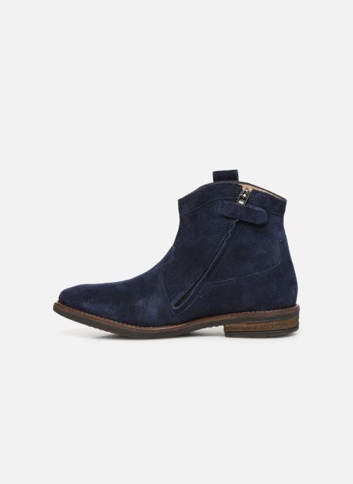 Bottines et boots Pom d Api Billy ferns Bleu vue face