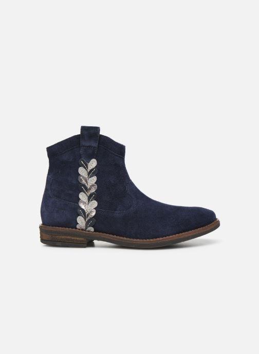 Bottines et boots Pom d Api Billy ferns Bleu vue derrière