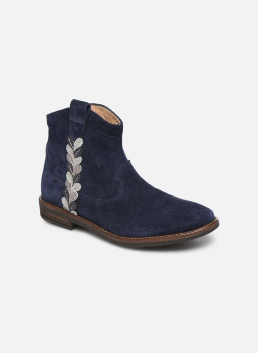 Boots en enkellaarsjes Pom d Api Billy ferns Blauw detail