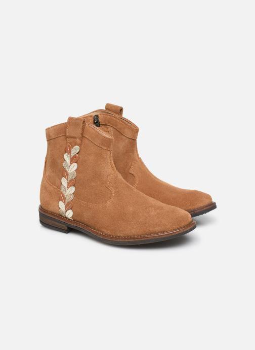 Boots en enkellaarsjes Pom d Api Billy ferns Bruin 3/4'