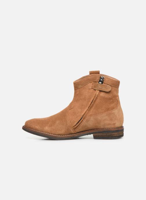 Boots en enkellaarsjes Pom d Api Billy ferns Bruin voorkant