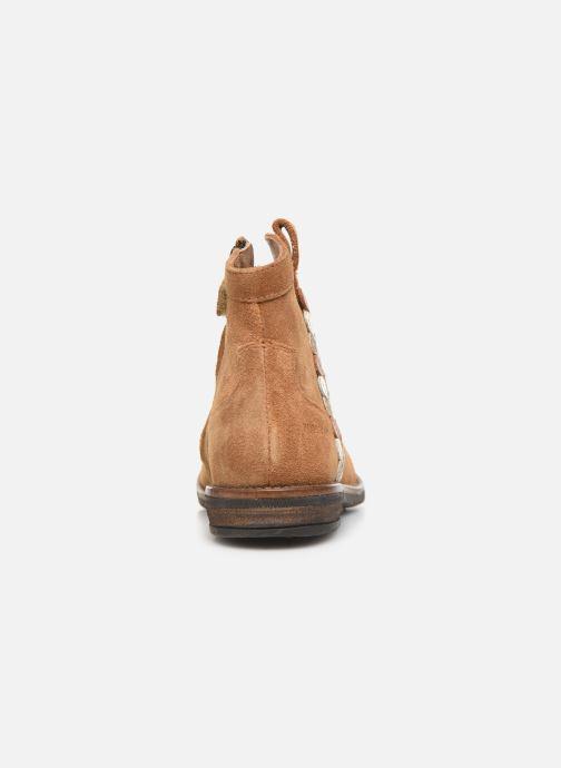 Bottines et boots Pom d Api Billy ferns Marron vue droite