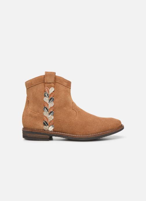 Boots en enkellaarsjes Pom d Api Billy ferns Bruin achterkant