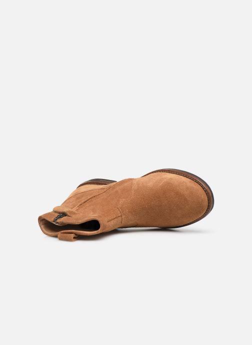 Boots en enkellaarsjes Pom d Api Billy ferns Bruin links