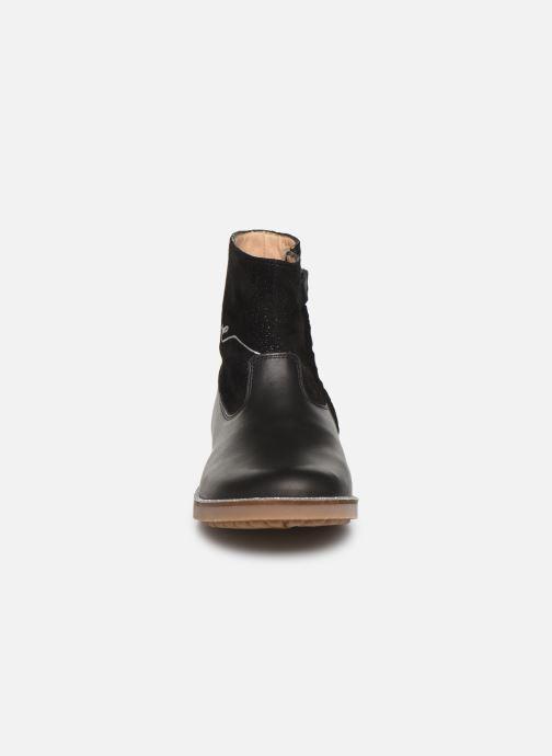 Bottines et boots Pom d Api New trip fix Bleu vue portées chaussures