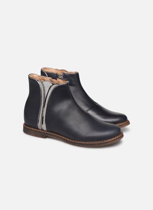 Boots en enkellaarsjes Pom d Api City art Blauw 3/4'