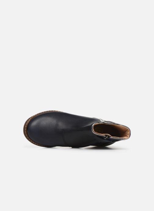Boots en enkellaarsjes Pom d Api City art Blauw links