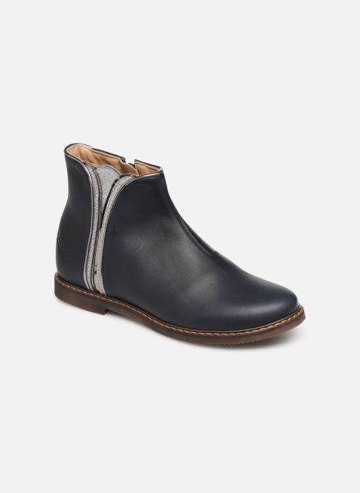 Boots en enkellaarsjes Pom d Api City art Blauw detail