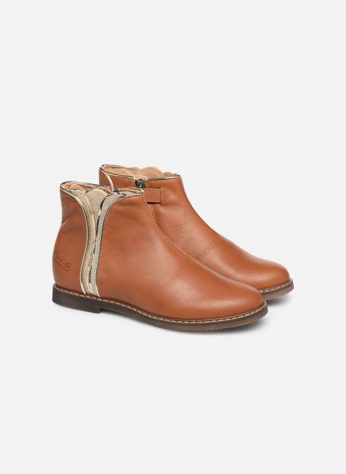 Boots en enkellaarsjes Pom d Api City art Bruin 3/4'