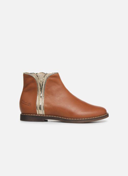 Boots en enkellaarsjes Pom d Api City art Bruin achterkant