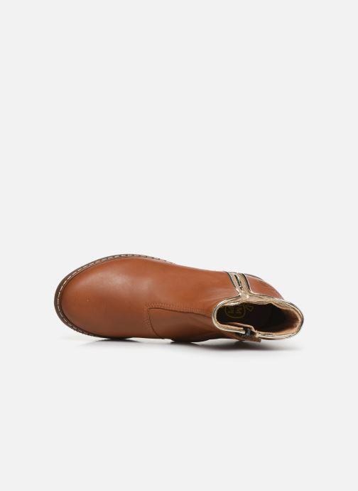 Boots en enkellaarsjes Pom d Api City art Bruin links