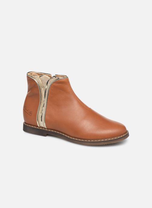 Bottines et boots Pom d Api City art Marron vue détail/paire