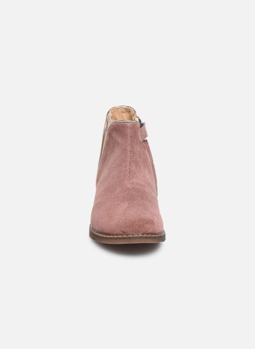 Boots en enkellaarsjes Pom d Api City art Roze model