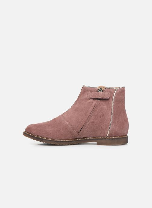 Boots en enkellaarsjes Pom d Api City art Roze voorkant
