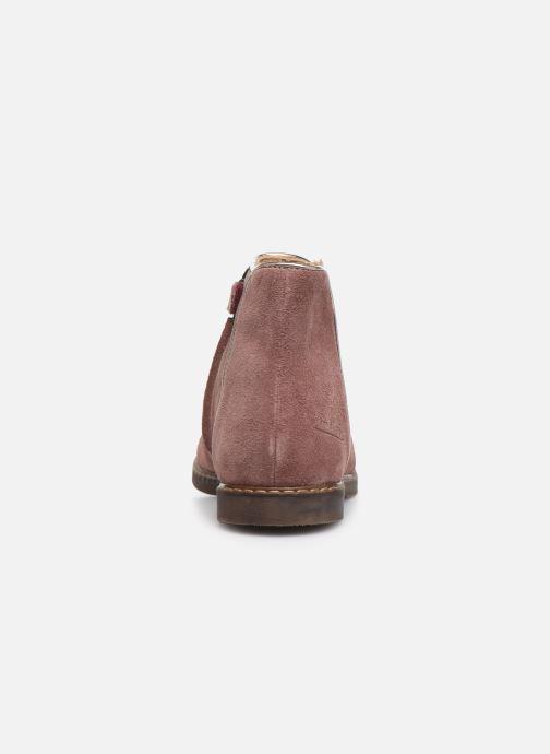 Boots en enkellaarsjes Pom d Api City art Roze rechts