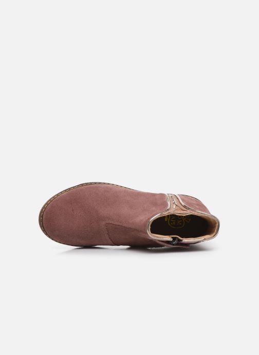 Boots en enkellaarsjes Pom d Api City art Roze links