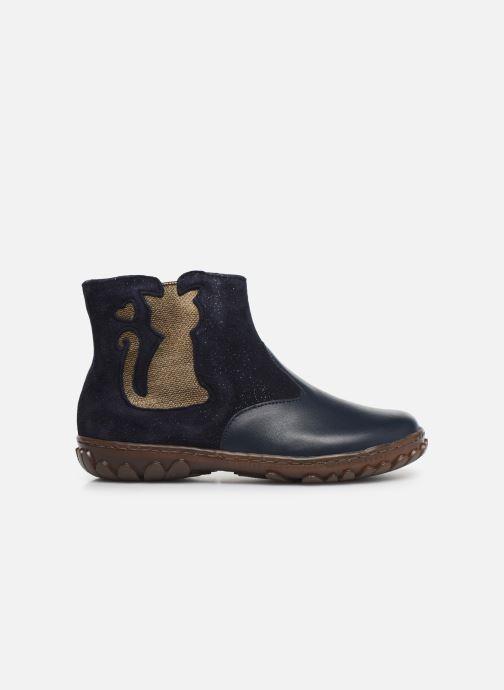 Bottines et boots Pom d Api Cute boots cat SZ Bleu vue derrière