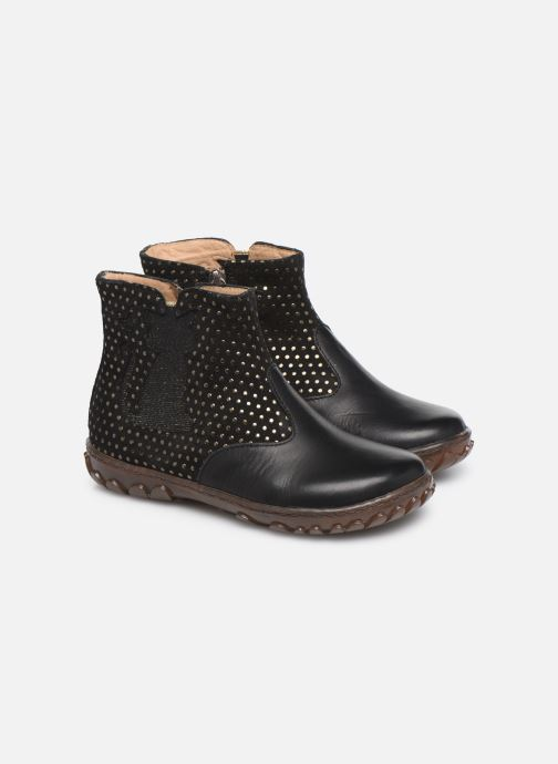 Boots en enkellaarsjes Pom d Api Cute boots cat SZ Zwart 3/4'
