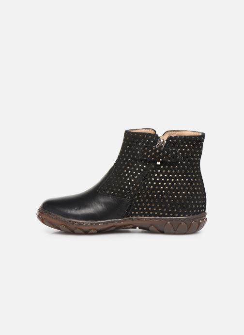 Boots en enkellaarsjes Pom d Api Cute boots cat SZ Zwart voorkant