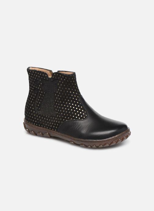 Boots en enkellaarsjes Pom d Api Cute boots cat SZ Zwart detail