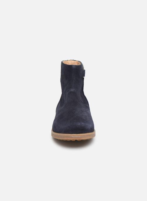 Bottines et boots Pom d Api Trip rolls boots Bleu vue portées chaussures