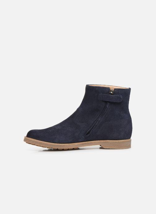 Bottines et boots Pom d Api Trip rolls boots Bleu vue face