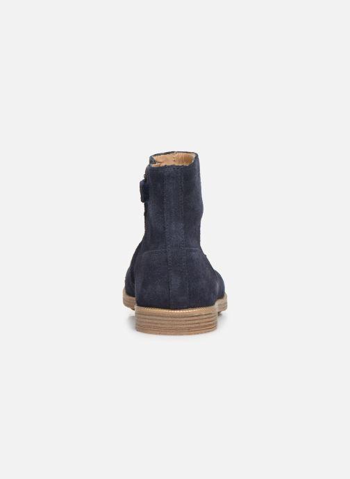 Stiefeletten & Boots Pom d Api Trip rolls boots blau ansicht von rechts