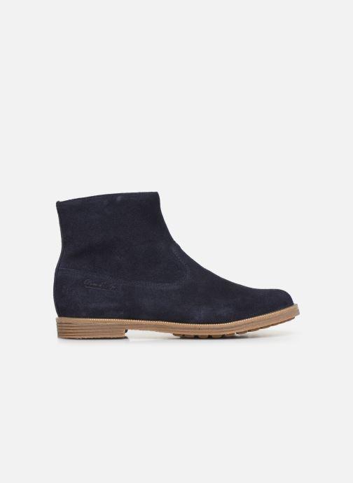 Bottines et boots Pom d Api Trip rolls boots Bleu vue derrière