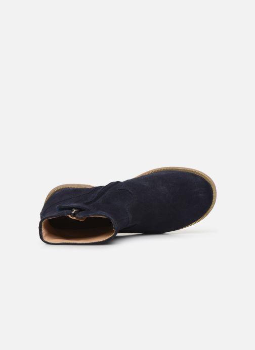 Stiefeletten & Boots Pom d Api Trip rolls boots blau ansicht von links