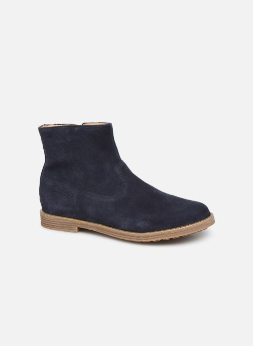 Ankle boots Pom d Api Trip rolls boots Blue detailed view/ Pair view