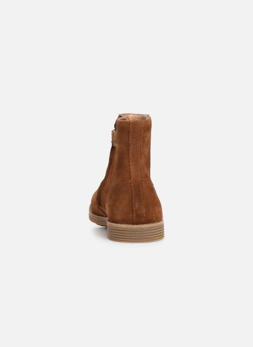 Boots en enkellaarsjes Pom d Api Trip rolls boots Bruin rechts