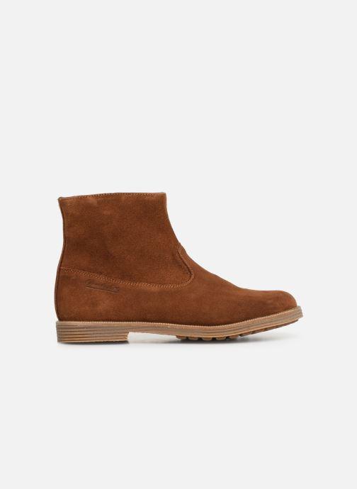 Boots en enkellaarsjes Pom d Api Trip rolls boots Bruin achterkant
