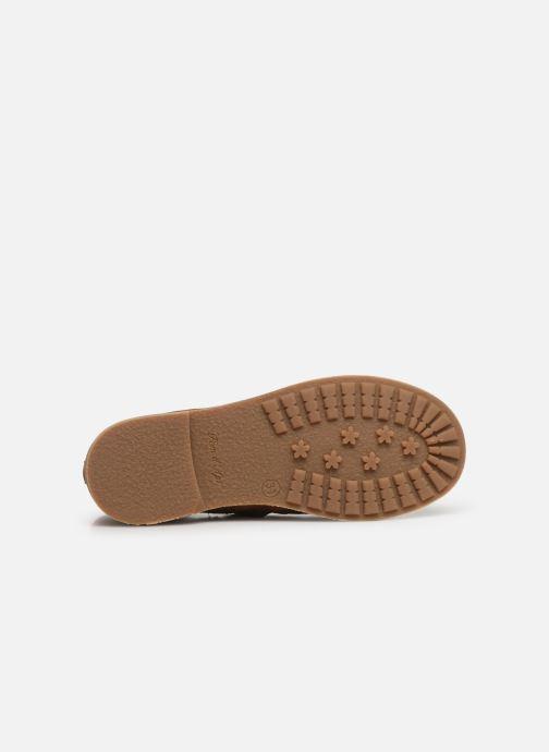 Boots en enkellaarsjes Pom d Api Trip rolls boots Bruin boven