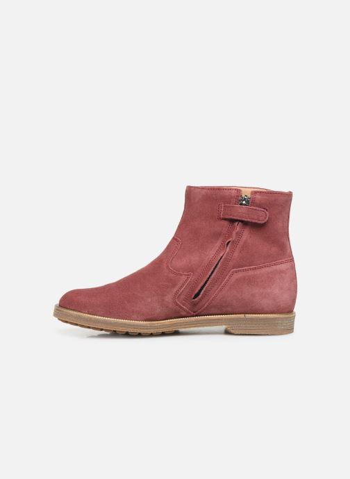 Bottines et boots Pom d Api Trip rolls boots Rose vue face