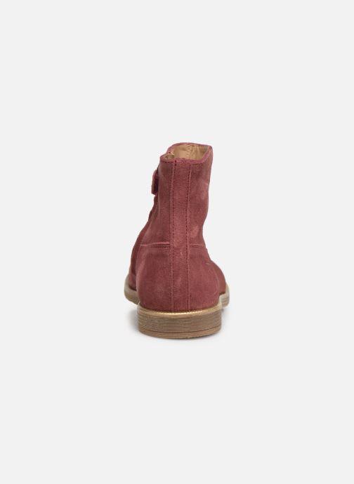 Botines  Pom d Api Trip rolls boots Rosa vista lateral derecha