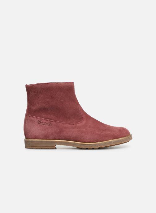 Bottines et boots Pom d Api Trip rolls boots Rose vue derrière