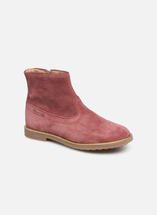 Bottines et boots Pom d Api Trip rolls boots Rose vue détail/paire