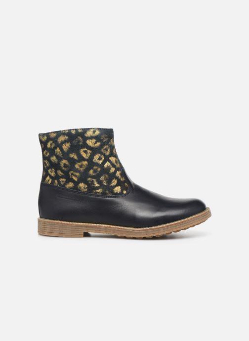 Bottines et boots Pom d Api Trip rolls boots Bleu vue droite