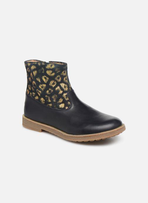 Boots en enkellaarsjes Pom d Api Trip rolls boots Blauw detail