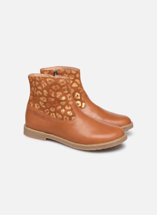 Boots en enkellaarsjes Pom d Api Trip rolls boots Bruin 3/4'