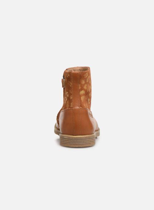 Botines  Pom d Api Trip rolls boots Marrón vista lateral derecha