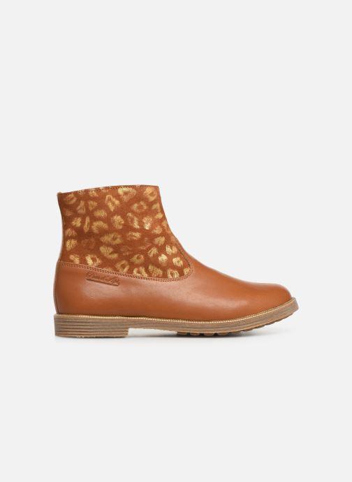 Bottines et boots Pom d Api Trip rolls boots Marron vue derrière