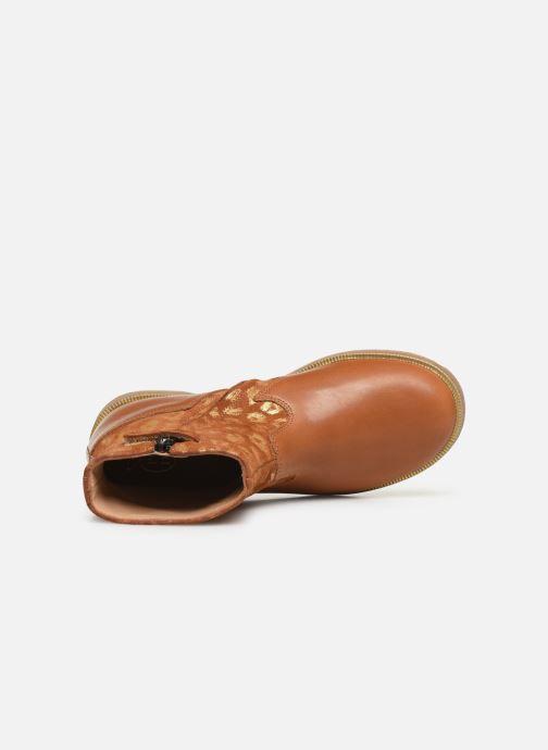 Botines  Pom d Api Trip rolls boots Marrón vista lateral izquierda