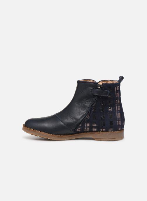 Boots en enkellaarsjes Pom d Api Trip back Blauw voorkant