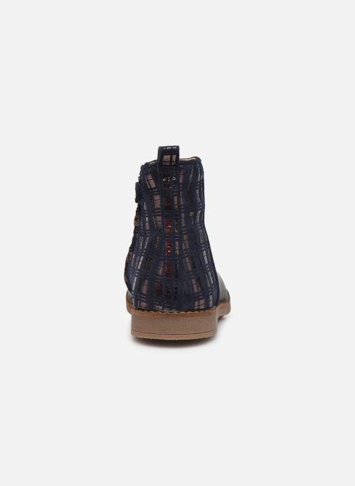 Boots en enkellaarsjes Pom d Api Trip back Blauw rechts