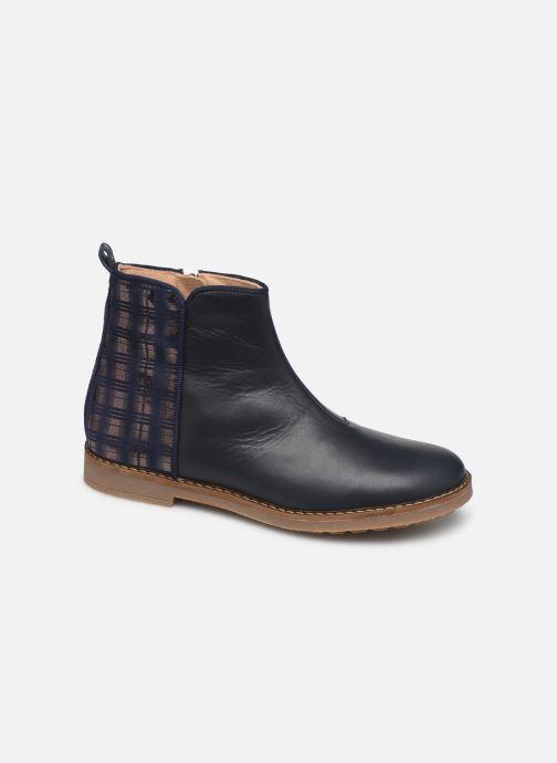Boots en enkellaarsjes Pom d Api Trip back Blauw detail