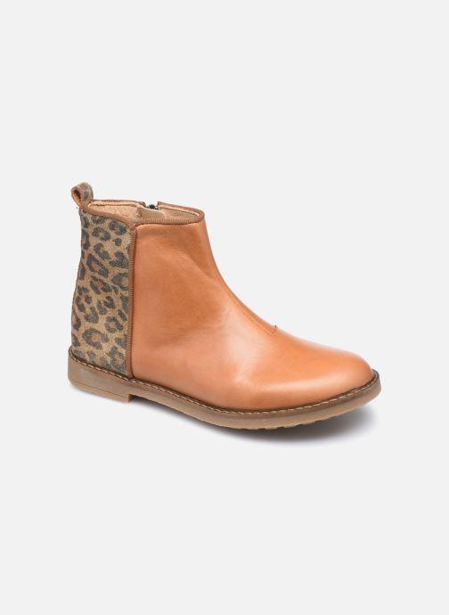 Stiefeletten & Boots Pom d Api Trip back braun detaillierte ansicht/modell